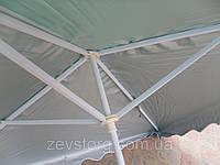 Торговый зонт 2,5x2,5м без клапана