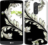 "Чехол на LG G3 Stylus D690 White and black 1 ""2805c-89"""