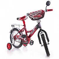 Детский двухколесный велосипед AZIMUT  Mustang -  Феррари(18 дюймов)***