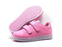 Детские кроссовки со светящей подошвой и подзарядкой оптом от бренда Bona (рр. с 25 по 30) 6 пар