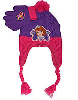 Шапочка и перчатки для девочки София