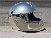 Хромирование защитного шлема