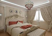 Декор элементов спальни