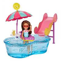 Набор Barbie Развлечения Челси Бассейн