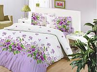Семейное постельное бельё ранфорс  ALTINBASAK Sumbul lila