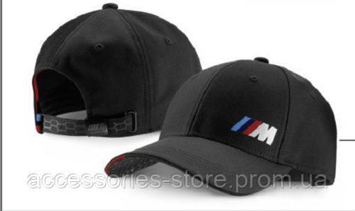 Бейсболка унисекс BMW M Cap Unisex, Black