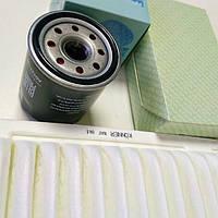 🌟Комплект фильтров для ТО (масляный+воздушный) Geely Emgrand EC7/ FC/ SL/ GC7 1.8L, Lifan 620