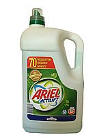 Гель для стирки Ariel Actilift (жидкий стиральный порошок для белого и светлого белья, зеленый) 4,9 л