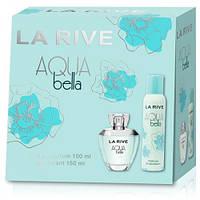 Женский подарочный набор (Туалетная вода/дезодорант) LA RIVE AQUA BELLA 060222