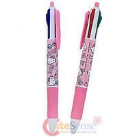 Ручка многоцветная 4 цвета Hello Kitty