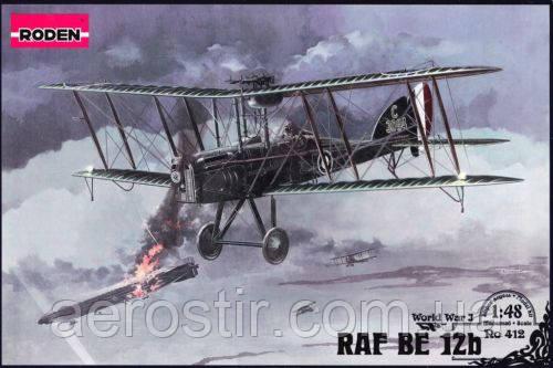 RAF B.E.12b 1/48 RODEN 412