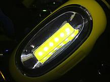 Автомобильный брелок-фонарик LED с карабином, фото 2