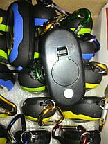 Автомобильный брелок-фонарик LED с карабином, фото 3