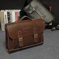 Мужской кожаный портфель Модель - 2130, фото 1