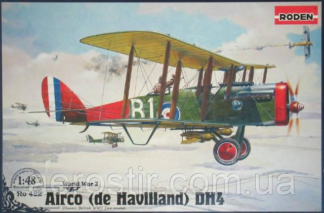 Airco [de Havilland] D. H. 4 1/48 RODEN 422