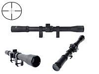 Оптический прицел Target 4x20 ZOOM + монтажные детали