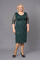 Нарядное гипюровое платье Донна М262