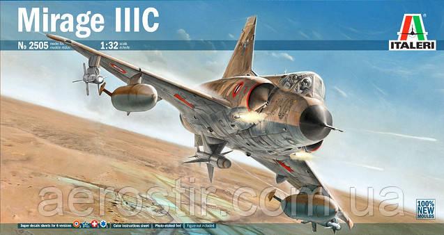 MIRAGE IIIC 1/32 ITALERI 2505