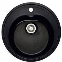 Мойка гранитная Fosto D510 покрытие 420 черный