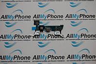 Шлейф коннектора зарядки с компонентами для мобильного телефона Samsung A7