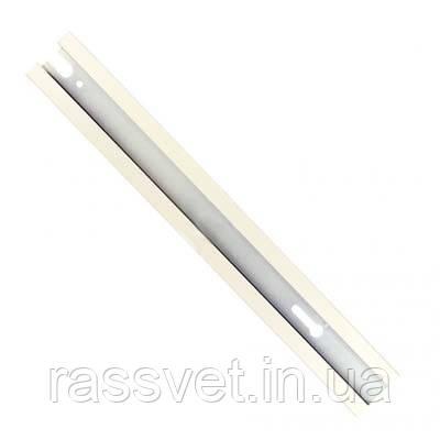 Шинопровод однофазный для трековых светильников 1 метр белый ( profile track 1000mm) white
