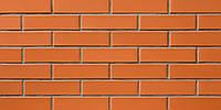 Керамический лицевой гладкий кирпич СБК Морковный (Ч0) (250*65*65) (960 шт./паллет)
