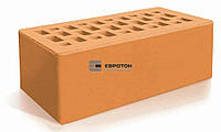 Цегла лицьова Евротон потовщенан персик(250Х120х88) (352 шт./паллет)