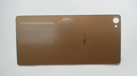 Задняя крышка (панель) Nomi i506 Shine золотистая, оригинал , фото 2