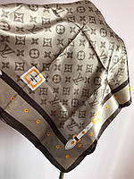 Брендовый женский платок шелк