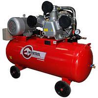 Компрессор 200л, 10HP, 7.5кВт, 380В, 8атм, 1050л/мин. 3цилиндра  PT-0040