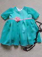 Нарядные платья для девочки 86-116 см.