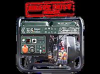 Дизельный генератор KS 9000HDE-1/3 ATSR«HEAVY DUTY»