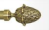 Декоративный наконечник Цинара для кованого карниза 25 мм.