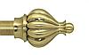 Декоративный наконечник Таджа для кованого карниза 25 мм.