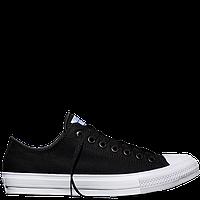 Кеды Converse All Star 2 низкие черно-белого цвета