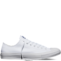Кеды Converse All Star II Low Chuck Tailor Lunarlon белые топ реплика