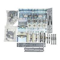 Комплект фурнітури Top Line XL для трьох дверей з доводчиком EB 30 (16-19мм) (9135007)