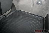 Коврик в багажник Opel Vectra C c 2002-2008 , кузов: HB , цвет:черный ,производитель NovLine