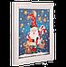 """Набір для вишивання бісером з рамкою """"Улюблений Дід Мороз"""", фото 2"""