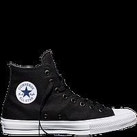 Кеды Converse All Star II High Chuck Tailor Lunarlon черно-белые