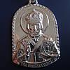 Срібна підвіска-ладанка Микола Чудотворець, 7 грам, фото 2