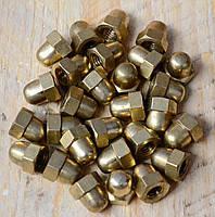Гайка колпачковая латунная М16 ГОСТ 11860-85, DIN 1587