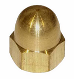 DIN 1587 Гайка колпачковая М3 латунная, фото 3
