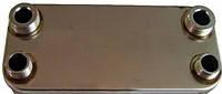 PP18FW6R02 Теплообменник вторичный на газовый котел Hermann Thesi (18 пластин)