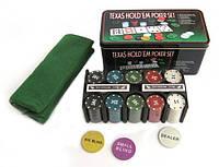 Набор для игры в покер Texas Hold'em (Техасский Холдем)