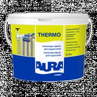 Акриловая эмаль для радиаторов Aura Luxpro Thermo 0.45 л