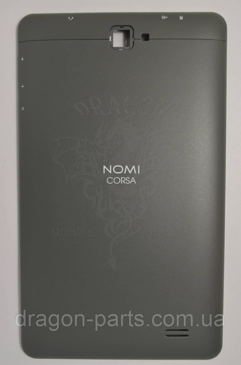 Задняя крышка (панель) Nomi C070010 Corsa Серая/Grey, Оригинал.