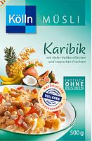 Kölln Müsli Karibik - Мюсли с тропическими фруктами, 500 г