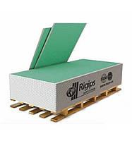Гипсокартон RIGIPS влагостойкий стеновой 12.5 мм (1.20х3.00)