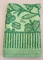 Махровое полотенце лицевое «Веточки»